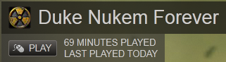 69 minutes played